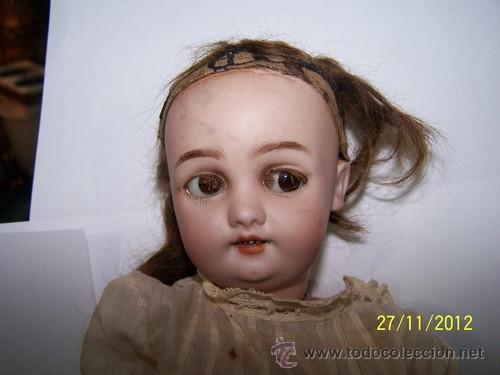 Muñecas Porcelana: Simon Halbig muñeca antigua rara - Foto 8 - 34590944