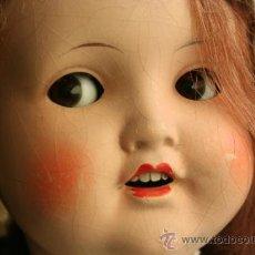 Muñecas Porcelana: ANTIGUA MUÑECA MARCADA SB O SP EN LA NUCA. Lote 38172473