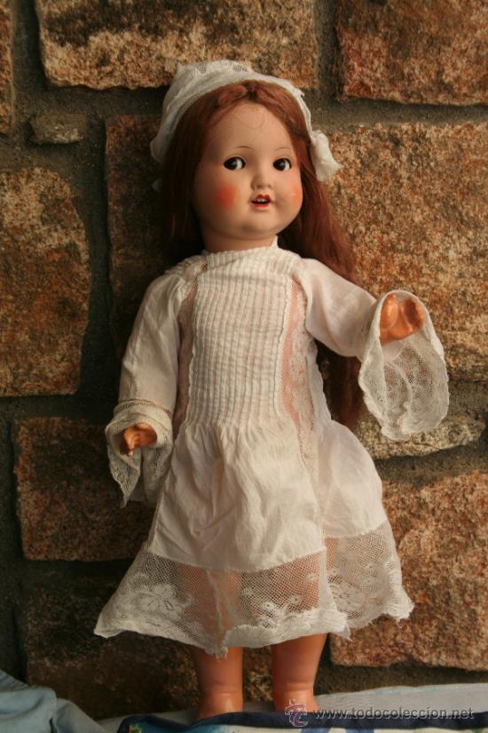 Muñecas Porcelana: antigua muñeca marcada sb o sp en la nuca - Foto 14 - 38172473
