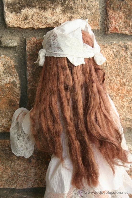 Muñecas Porcelana: antigua muñeca marcada sb o sp en la nuca - Foto 4 - 38172473