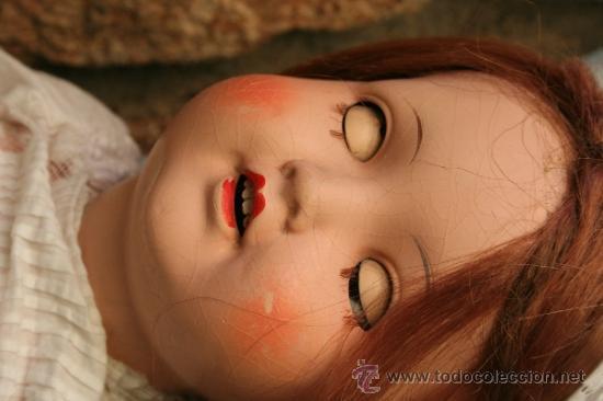 Muñecas Porcelana: antigua muñeca marcada sb o sp en la nuca - Foto 2 - 38172473