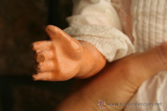 Muñecas Porcelana: antigua muñeca marcada sb o sp en la nuca - Foto 9 - 38172473