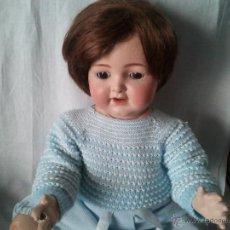 Muñecas Porcelana: MUÑECA CABEZA PORCELANA SIMON HALBIG. Lote 39594537