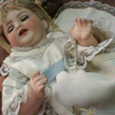 Muñecas Porcelana: ANTIGUA MUÑECA ORIGINAL SIMON & HALBIG DE COMPOSICIÓN -ROPA ORIGINAL-EXCELENTE ESTADO-FINALES S. XIX. Lote 39862907