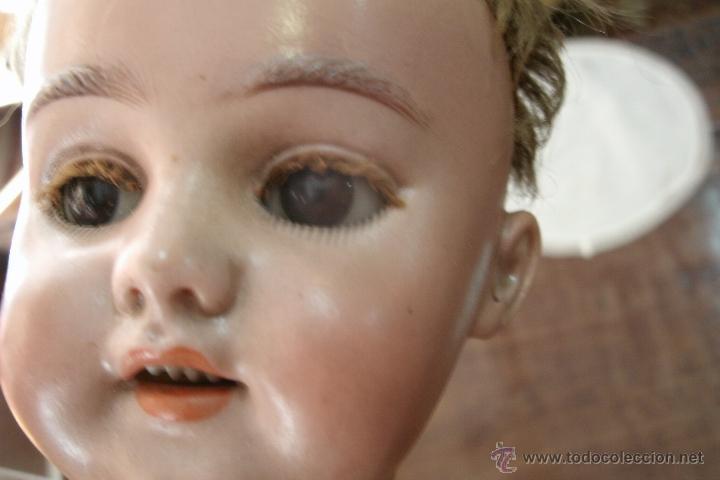Muñecas Porcelana: ANTIGUA MUÑECA ORIGINAL SIMON & HALBIG DE CABEZA BISCUIT Y CUERPO DE COMPOSICIÓN-MODELO RARO-S. XIX - Foto 11 - 39863146