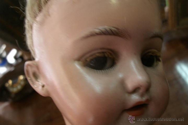Muñecas Porcelana: ANTIGUA MUÑECA ORIGINAL SIMON & HALBIG DE CABEZA BISCUIT Y CUERPO DE COMPOSICIÓN-MODELO RARO-S. XIX - Foto 14 - 39863146