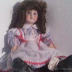 Muñecas Porcelana: MUÑECA ANTIGUA PORCELANA SIN NINGUN DEFECTO ANCLA L C UNTERKODITZ, MÖLLER&DIPPE. Lote 41167745