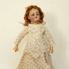 Muñecas Porcelana: MUÑECA ANDADORA PORCELANA Y MADERA DEP SILMON HALBIG 1039 - GERMANY. Lote 41669028