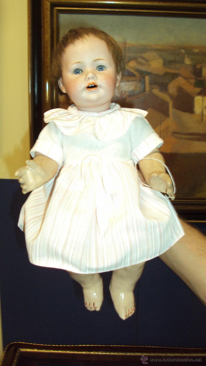 Muñecas Porcelana: Precioso Muñeco - Muñeca de Caracter Alemán Kestner Porcelana Firmado JDK - Foto 4 - 45156496