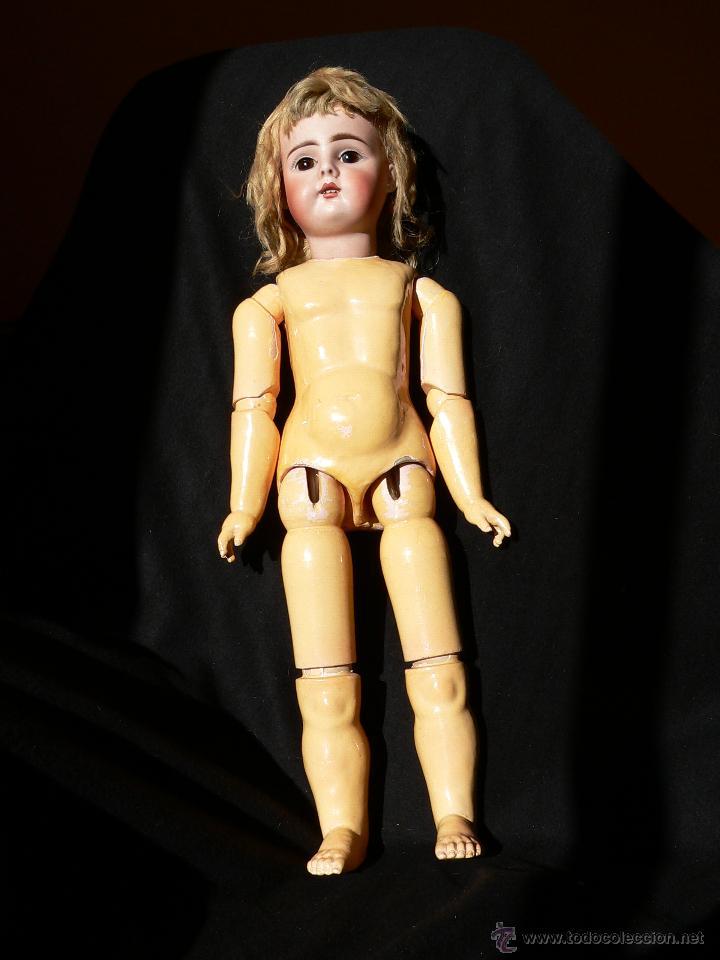 Muñecas Porcelana: Preciosa Muñeca de porcelana Simon&Halbing Mod. 269 DEP - Foto 2 - 46054018