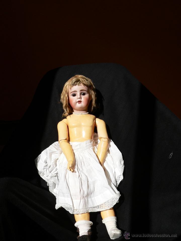 Muñecas Porcelana: Preciosa Muñeca de porcelana Simon&Halbing Mod. 269 DEP - Foto 3 - 46054018