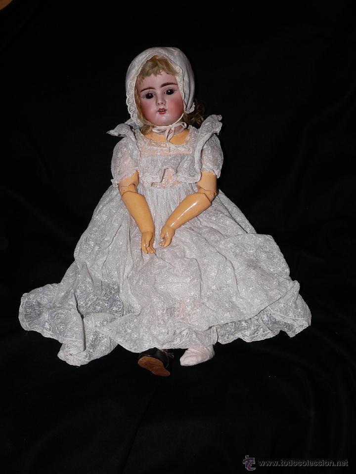 Muñecas Porcelana: Preciosa Muñeca de porcelana Simon&Halbing Mod. 269 DEP - Foto 5 - 46054018