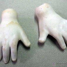Muñecas Porcelana: MANOS, PARA MUÑECA ANTIGUA. Lote 47431162