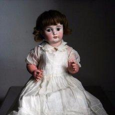 Muñecas Porcelana - ANTIGUO BEBE DE PORCELANA DE 50 CM - 51079104
