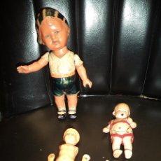 Muñecas Porcelana: LOTE DE 4 MUÑECOS. Lote 51316217