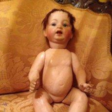 Muñecas Porcelana: BEBE MUÑECO DE CARÁCTER CON CABEZA DE BISCUIT.MB BROTHERS JAPAN. Lote 46375608