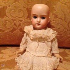 Muñecas Porcelana: MUÑECA CON CABEZA DE BISCUIT.ARMAND MARSEILLE FLORODORA. Lote 46410581