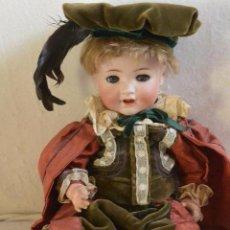 Muñecas Porcelana: EXTRAORDINARIO MUÑECO PORCELANA KAMMER AND REINHART. Lote 52647332