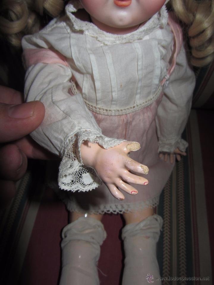 Muñecas Porcelana: Antigua Muñeca de Porcelana - Foto 4 - 52986968