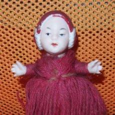 Muñecas Porcelana: CHINITO CON TRENZA,PORCELANA,GERMANY,PRINCIPIO DEL SIGLO XX. Lote 53346719