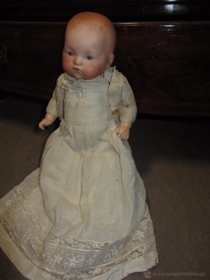 Muñecas Porcelana: Precioso Bebe Muñeca de Porcelana Armand Marseille - Foto 3 - 53441569