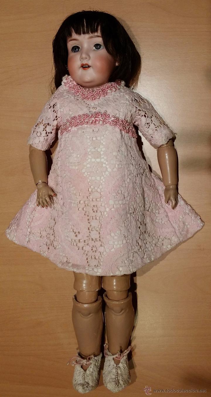 Muñecas Porcelana: Muñeca ARMAND MARSEILLE molde 390 talla 4. - Foto 5 - 54638855