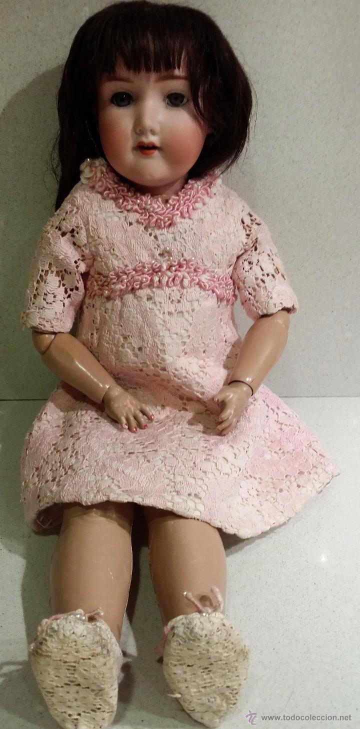 Muñecas Porcelana: Muñeca ARMAND MARSEILLE molde 390 talla 4. - Foto 6 - 54638855