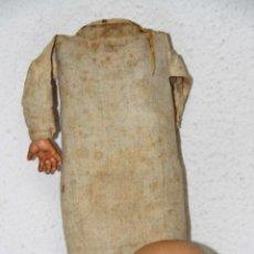 Muñecas Porcelana: MU086 MUÑECO BEBÉ. PORCELANA Y TRAPO. ALEMANIA. PRINC. S. XX. Lote 54653055