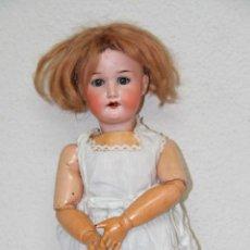 Muñecas Porcelana: MU061 HEUBACH KÖPPELSDORF. PORCELANA Y CARTÓN PIEDRA. MECANISMO SONORO. PRINC. S. XX. Lote 55171503