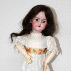 Muñecas Porcelana: MU004 SIMON HALBIG. MODELO 1079. TALLA 7. ALEMANIA. FINALES S. XIX. Lote 49524674