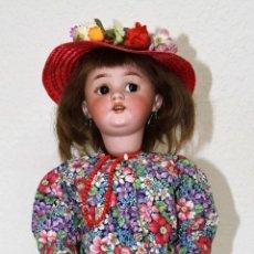 Muñecas Porcelana: MU006 SIMON HALBIG. ANDADORA. PORCELANA Y COMPOSICIÓN. ALEMANIA. PRINC. S. XX. Lote 49541616