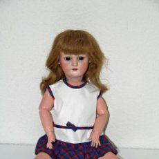 Muñecas Porcelana: MUÑECA SIMON HALBIG. 1078. CABEZA DE PORCELANA. PINTADA A MANO. ALEMANIA. AÑOS 20. Lote 47973780