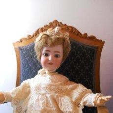 Muñecas Porcelana: GRAN MUÑECA ORIGINAL DE SIMON & HALBIG. Lote 56548381