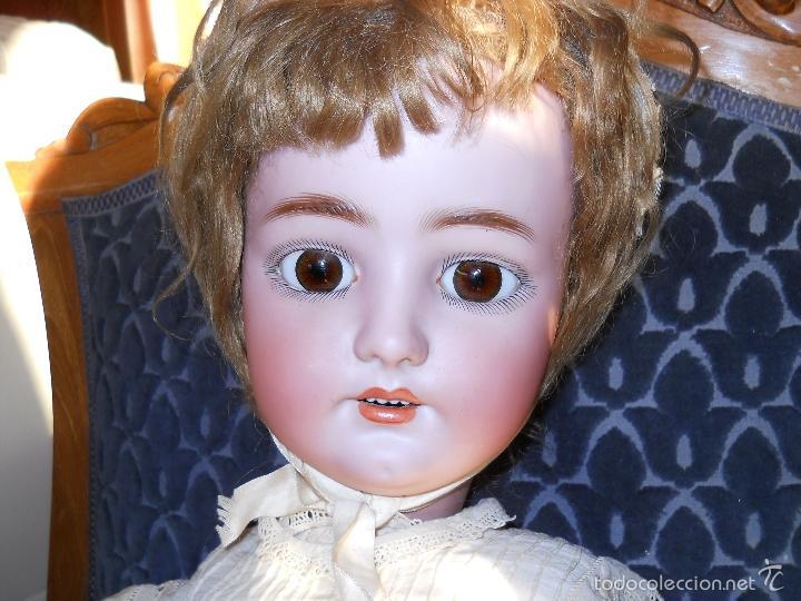 Muñecas Porcelana: GRAN MUÑECA ORIGINAL DE SIMON & HALBIG - Foto 2 - 56548381
