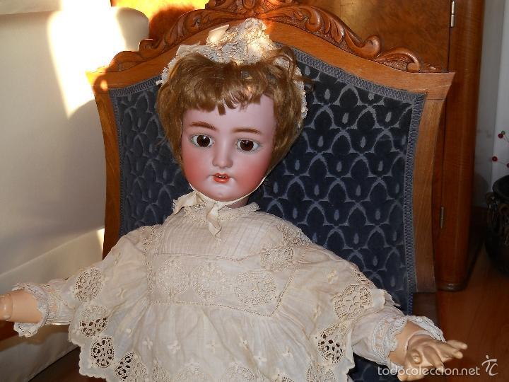 Muñecas Porcelana: GRAN MUÑECA ORIGINAL DE SIMON & HALBIG - Foto 3 - 56548381
