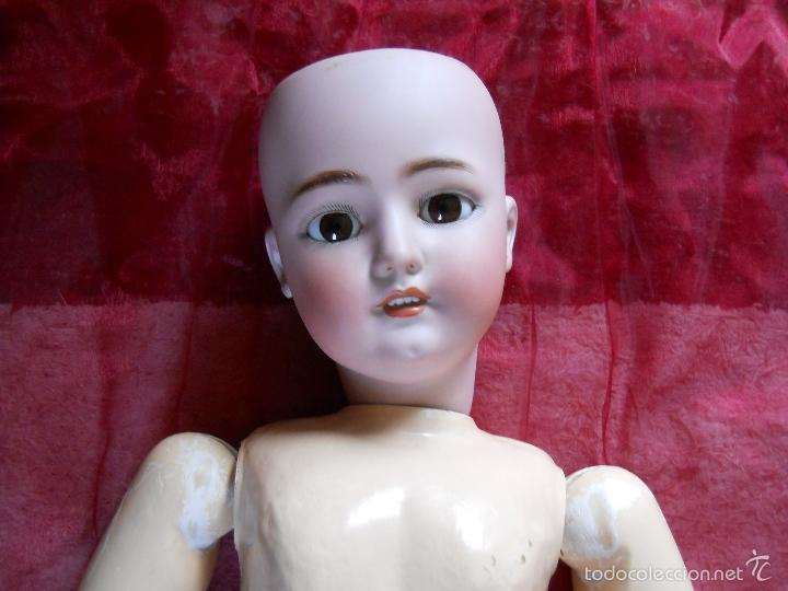 Muñecas Porcelana: GRAN MUÑECA ORIGINAL DE SIMON & HALBIG - Foto 6 - 56548381