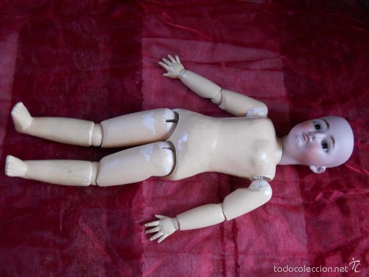 Muñecas Porcelana: GRAN MUÑECA ORIGINAL DE SIMON & HALBIG - Foto 7 - 56548381