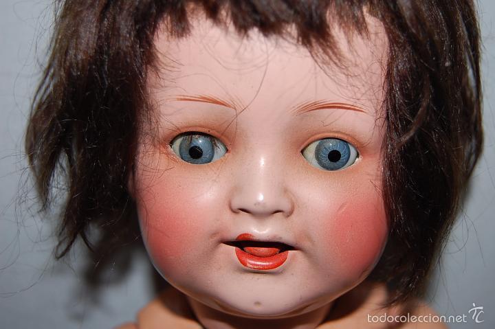 Muñecas Porcelana: MUÑECA ALEMANA CON OJOS BASCULANTES - MARCA DETRÁS DE LA CABEZA - - Foto 11 - 56552263