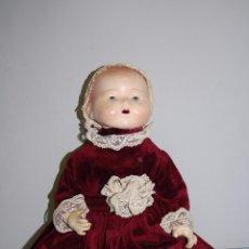 Muñecas Porcelana: MUÑECA NIÑA CABEZA PORCELANA DE 40 CM ALTURA. Lote 56552359