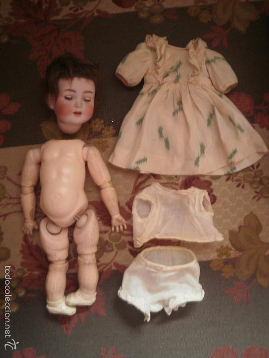 MUÑECA (Juguetes - Muñeca Extranjera Antigua - Porcelana Alemana)