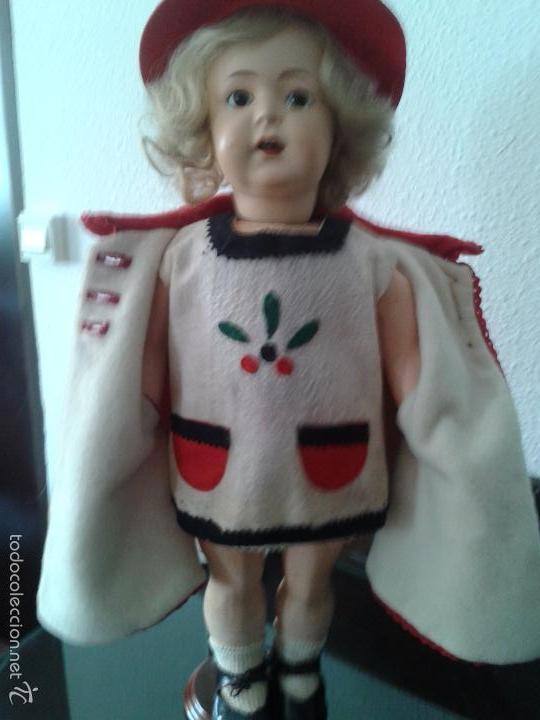 Muñecas Porcelana: PRECIOSA MUÑECA ANDADORA SIMON & HALBIG 126 ,MARCADA ,CON ROPAS ORIGINALES - Foto 6 - 57042231