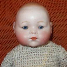Muñecas Porcelana: DIFÍCIL BEBÉ DE PORCELANA,THEODOR RECKNAGEL,GERMANY,120,FABRICADO EN LOS AÑOS 20. Lote 57177138