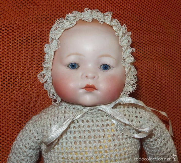 Muñecas Porcelana: DIFÍCIL BEBÉ DE PORCELANA,THEODOR RECKNAGEL,GERMANY,120,FABRICADO EN LOS AÑOS 20 - Foto 2 - 57177138