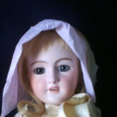 Muñecas Porcelana: MUÑECA SIMON HALBIG ALEMANA, FIEL REPRODUCCION ANTIGUA.. Lote 58087826