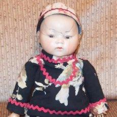 Muñecas Porcelana: MUÑECO ORIENTAL DE PORCELANA,BRUNO SCHMIDT,2064,GERMANY,PPIO DEL SIGLO XX. Lote 58332231