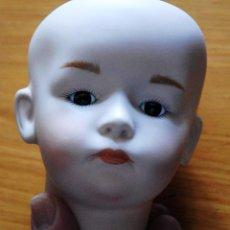 Muñecas Porcelana: CABEZA DE PORCELANA REPARADA. Lote 58516046