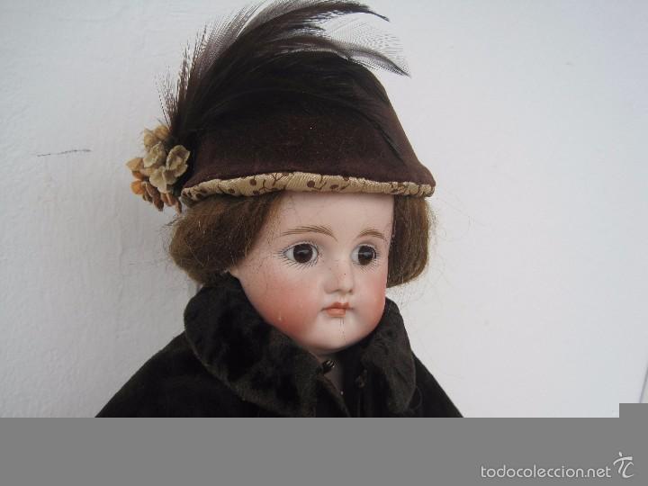 Muñecas Porcelana: MUÑECA DE PORCELANA BOCA CERRADA, KESTNER, LADY DOLL, 50 CM. - Foto 2 - 58604533