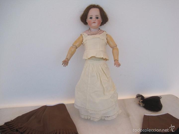 Muñecas Porcelana: MUÑECA DE PORCELANA BOCA CERRADA, KESTNER, LADY DOLL, 50 CM. - Foto 4 - 58604533