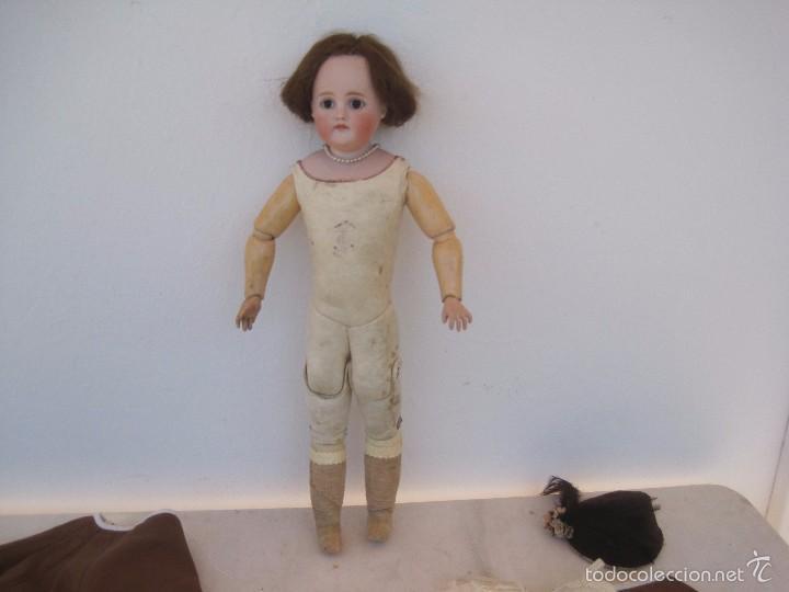 Muñecas Porcelana: MUÑECA DE PORCELANA BOCA CERRADA, KESTNER, LADY DOLL, 50 CM. - Foto 5 - 58604533
