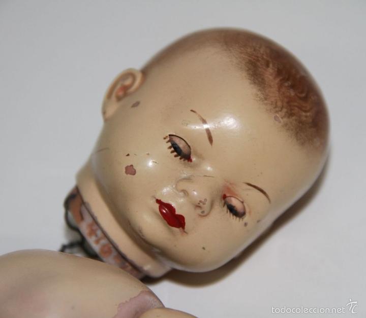 Muñecas Porcelana: MU116 MUÑECO BEBÉ. PORCELANA. PINTADO A MANO. ALEMANIA. PRINC. S. XX - Foto 2 - 60584087